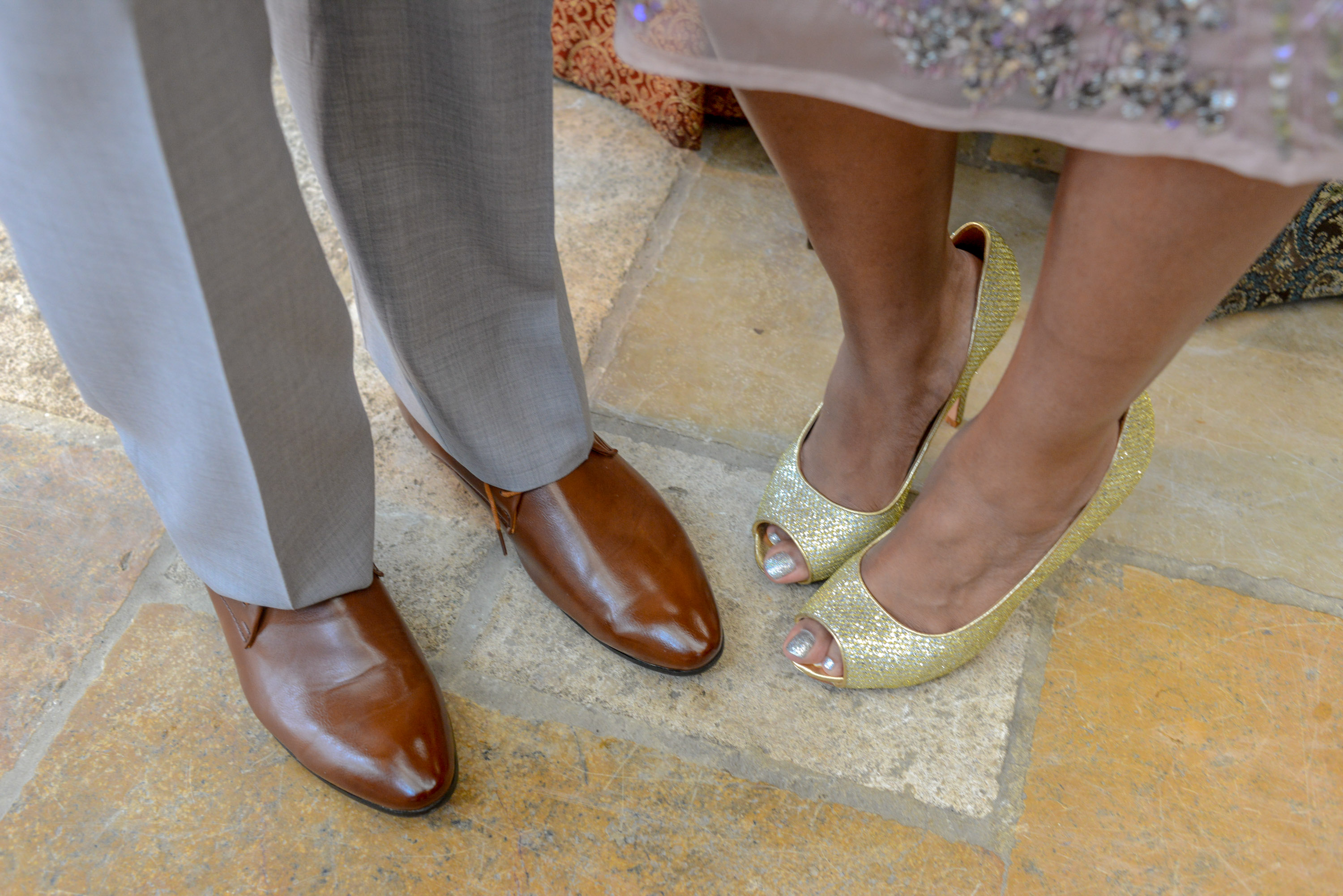 Shoes For The Reception